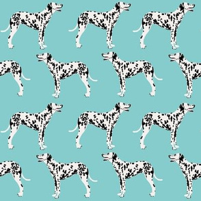 dalmatian dog dogs blue cute pet dog fabric dalmatian fabric