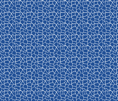 ipernity_summercolors_blue_cracked_glass fabric by pamelachi on Spoonflower - custom fabric