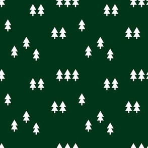 trees || forest green