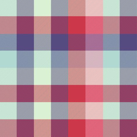 extra-large Madras plaid - spring quilt fabric by weavingmajor on Spoonflower - custom fabric