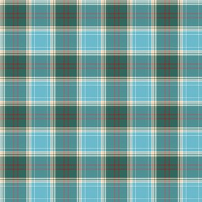 Michigan tartan - great lakes greyed, 2""