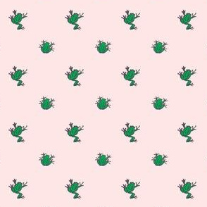 frogs pink
