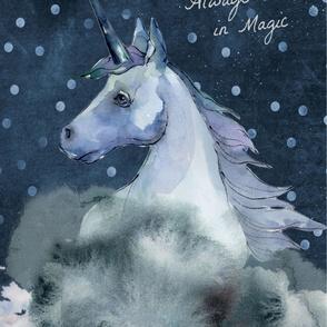 Believe in Magic MINKY ONLY 2 YARD SCALE