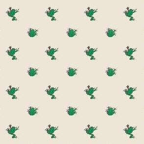 frogs beige