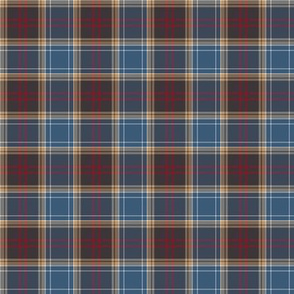 "Michigan tartan, downstate, 2"" (half size)"