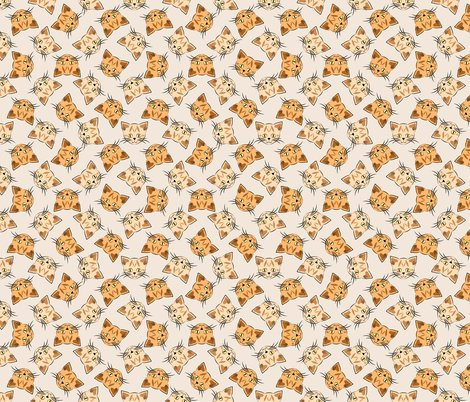 Rrrcat_face_tabby_orange_pattern_beige_shop_preview