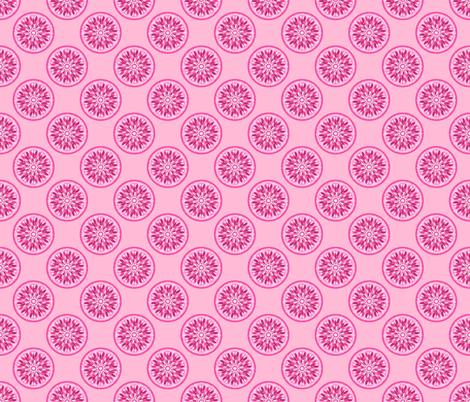 Pink Lemonade Lemon Slices fabric by anderson_designs on Spoonflower - custom fabric