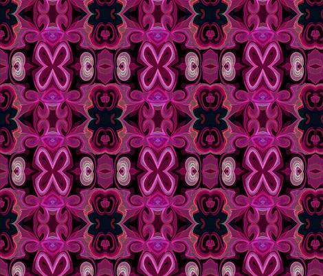 X-Magenta fabric by stephaniecolecreations on Spoonflower - custom fabric