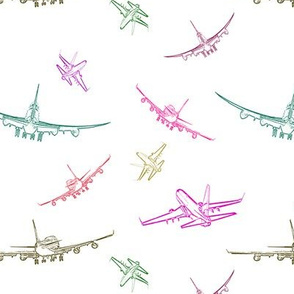 Colorful Planes #3