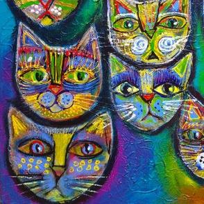 Scribble cats