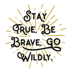 Go Wildly Lovey // Gold