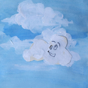 Blue Skies with a Happy Cloud