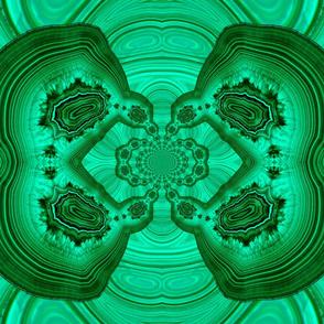 Malachite mandala