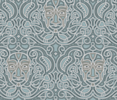 masks fabric by greyfire on Spoonflower - custom fabric