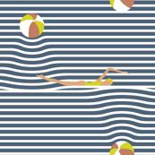 beachside breton stripes