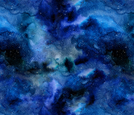 Galaxy D fabric by dinaramay on Spoonflower - custom fabric