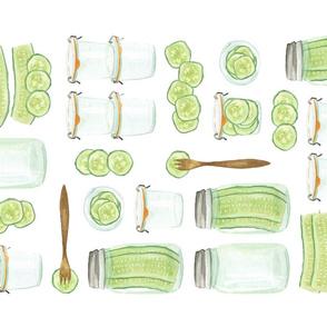 Pickles Tea Towel