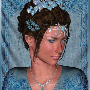 Fairy Princess in Blue Large