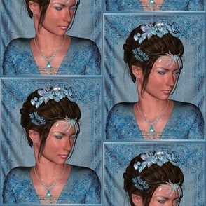 Fairy Princess in Blue Small