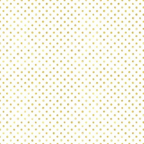 Gold Polka Dot Small