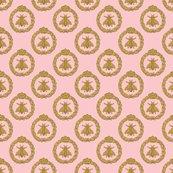Rnapoleonic_bees___queen_bee___dauphine___peaocoquette_designs___copyright_2016_shop_thumb