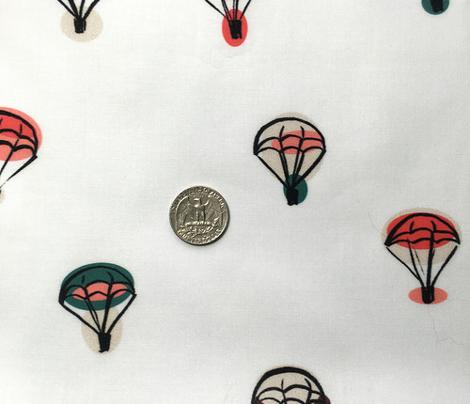 parachutes white