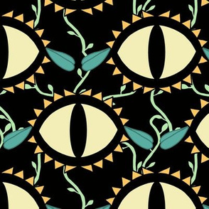 Cat Eye Flowers Pastel Goth Double Take Challenge Betabrand