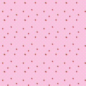 Strawberry Polka Dot