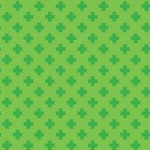Grass Tiny Crosses