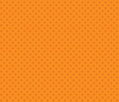 Marmalade Tiny Crosses fabric by surlysheep on Spoonflower - custom fabric