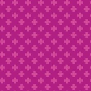 Raspberry Tiny Crosses