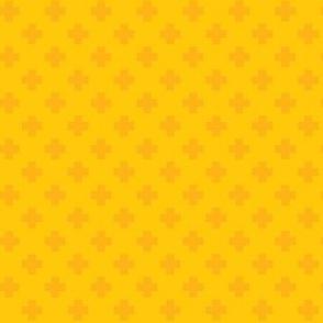 Sunflower Tiny Crosses