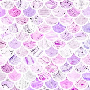 Marble Scale Pattern in Purple
