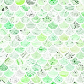 Marble Scale Pattern in Green