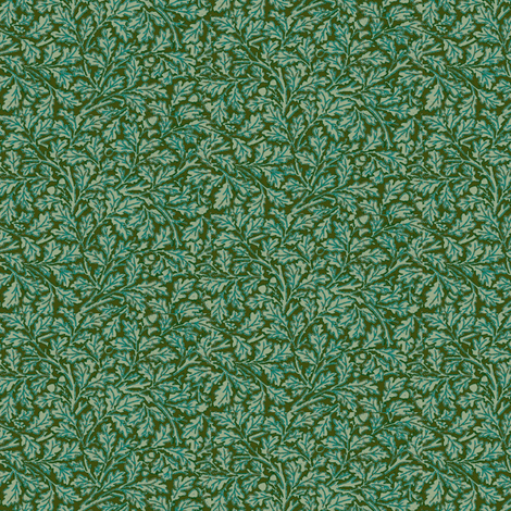 Tiny Acorn fabric by amyvail on Spoonflower - custom fabric