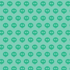 Mint Skull Dot 1