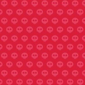 Cherry Skull Dot 1