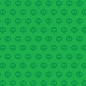 Emerald Skull Dot 1