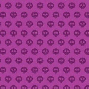 Grape Skull Dot 1