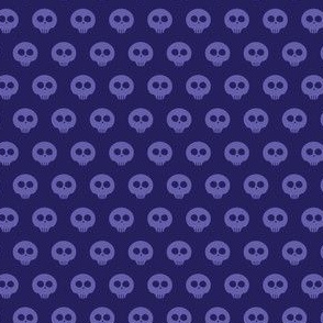 Indigo Skull Dot 1