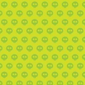 Lime Skull Dot 1