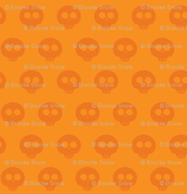 Marmalade Skull Dot 1