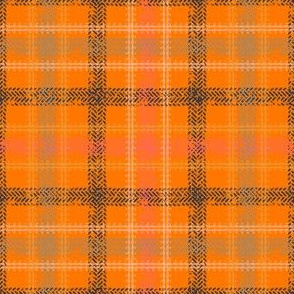 Bike Tread Plaid (orange)