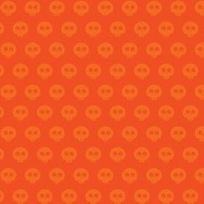 Orange Skull Dot 1