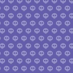 Periwinkle Skull Dot 1