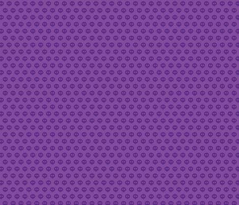 Purple Skull Dot 1 fabric by surlysheep on Spoonflower - custom fabric