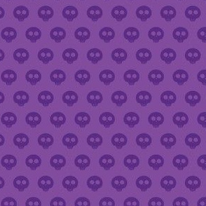 Purple Skull Dot 1