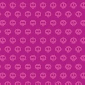Raspberry Skull Dot 1