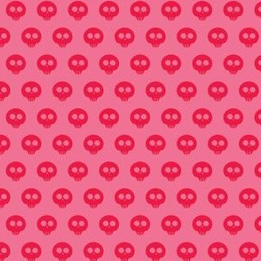 Watermelon Skull Dot 1