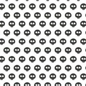 White Skull Dot 1